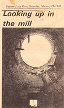 Inside the Mill from the Eastern Daily Press, 1978
